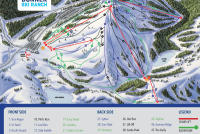 Donner Ski Ranch Pistenplan
