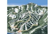 Homewood Mountain Resort Mapa zjazdoviek