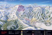 Kirkwood Piste Map