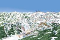 Squaw Valley - Alpine Meadows Plan des pistes