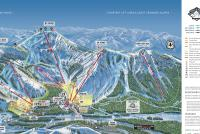 Sugar Bowl Resort Plan des pistes