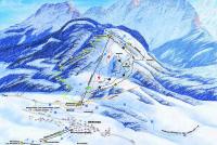 Karkogel - Abtenau Mappa piste