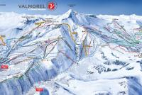 Valmorel Piste Map