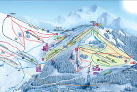 Manigod Piste Map