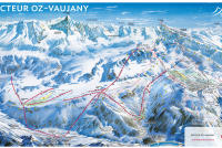 Oz en oisans Trail Map