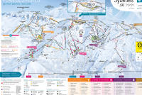Saint Sorlin d'Arves Mappa piste