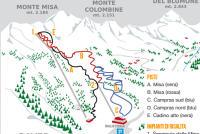 Bagolino - Gaver Mappa piste