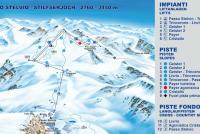Passo Stelvio Trail Map