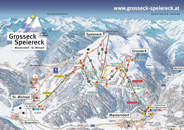 Großeck - Speiereck Trail Map