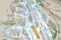 Camden Snow Bowl Trail Map