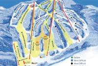 Blandford Ski Area Trail Map
