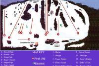 Bradford Ski Area Plan des pistes