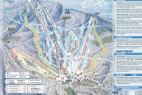 Wachusett Mountain Ski Area Piste Map