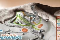 Bussang - Larcenaire Mapa zjazdoviek