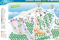 Le Markstein Trail Map