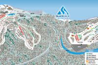 Big Snow Resort - Blackjack Plan des pistes