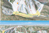 Nubs Nob Ski Area Trail Map