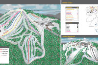 Schuss Mountain at Shanty Creek Mappa piste