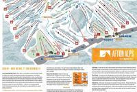 Afton Alps Piste Map