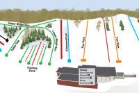 Hyland Ski & Snowboard Area Mappa piste