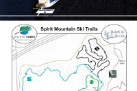 Spirit Mountain Piste Map