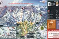 Bridger Bowl Mappa piste