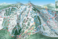Great Divide Mappa piste