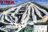 Maverick Mountain Mappa piste