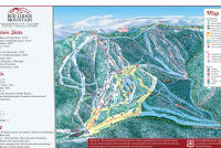 Red Lodge Mountain Plan des pistes