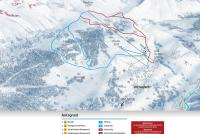 Antagnod Piste Map