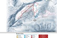 Brusson Piste Map