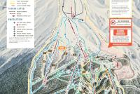 Timberline Lodge Mappa piste