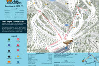 Lee Canyon Mappa piste