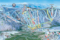 Bretton Woods Plan des pistes