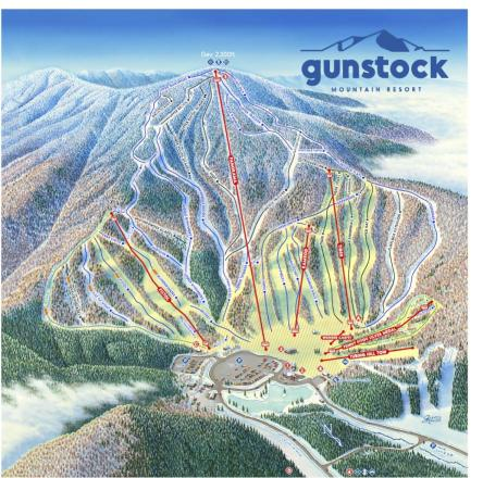 Gunstock Trail Map