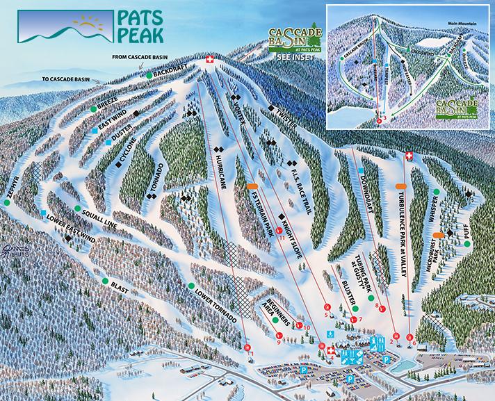 Pats Peak Trail Map Onthesnow