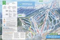 Waterville Valley Plan des pistes