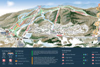 Mountain Creek Resort Mappa piste