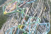 Sipapu Ski Resort Plan des pistes
