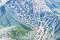 Ski Santa Fe Trail Map
