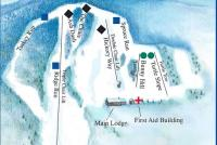 Maple Ski Ridge Mappa piste