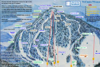 McCauley Mountain Ski Center Piste Map