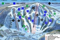 Song Mountain Mappa piste