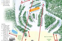 Thunder Ridge Piste Map