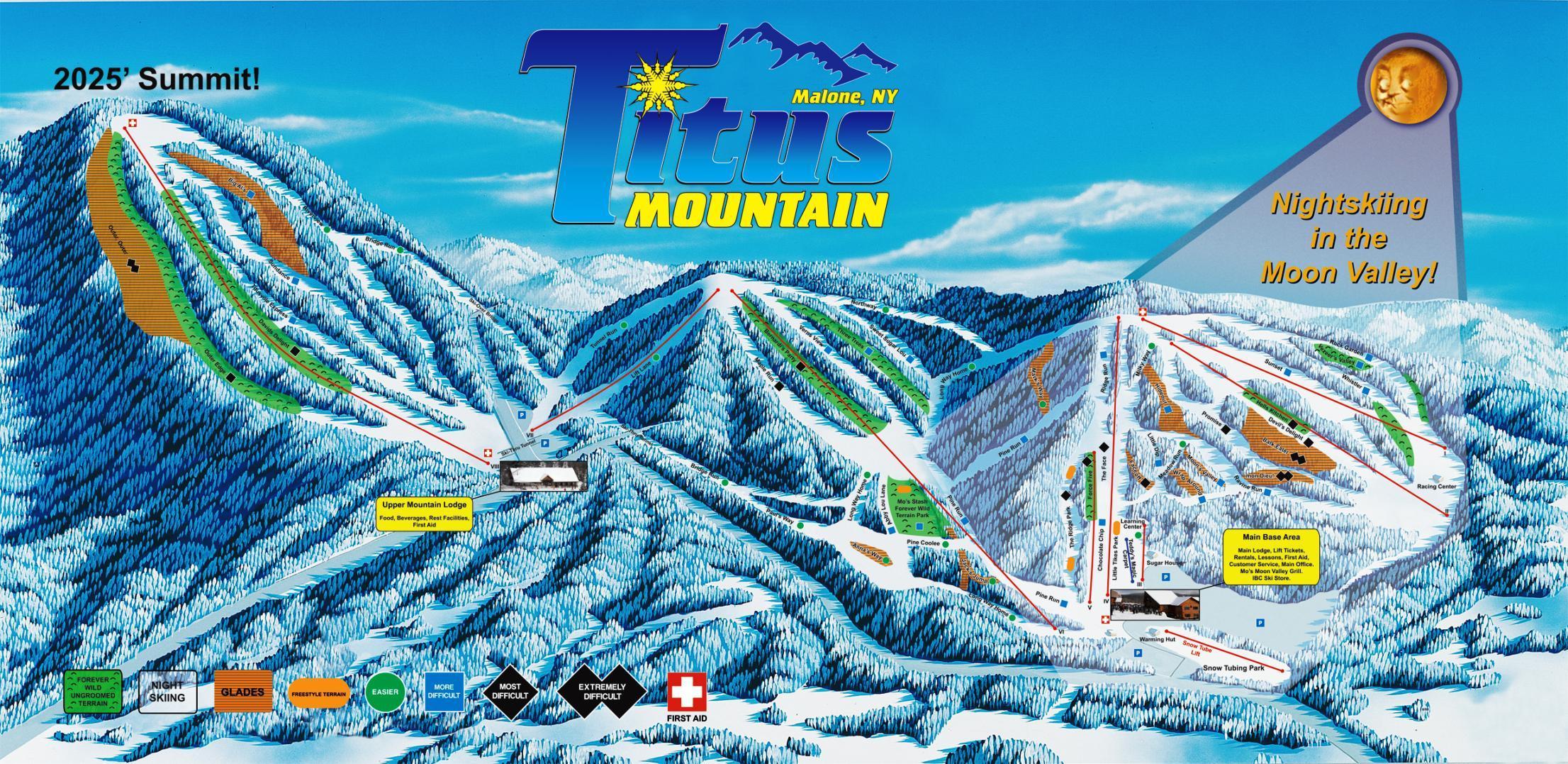 titus mountain snow report | onthesnow