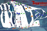 Toggenburg Mountain Plan des pistes