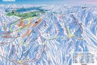 Cardrona Alpine Resort Plan des pistes