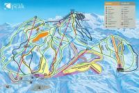 Coronet Peak Pistenplan