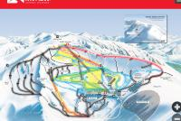 Mt. Hutt Ski Area Trail Map