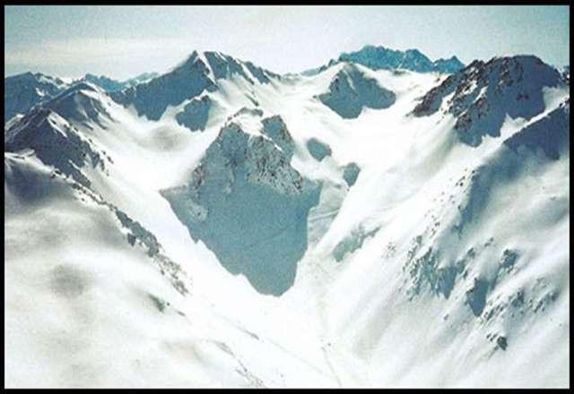 Mt. Potts Backcountry Mappa piste